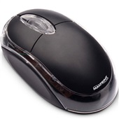 Mouse Óptico com Fio PS2 Preto 606142 1 UN Maxprint