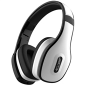 Headphone Over Ear Stereo Bluetooth e Conector P2 Branco PH152 1 UN Pulse