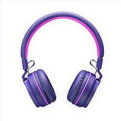 Headphone On Ear Stereo Fun Bluetooth Rosa e Roxo PH217 1 UN Pulse