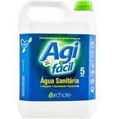 Água Sanitária Cloro Ativo 2,0 à 2,5% 5L 1 UN Agifácil