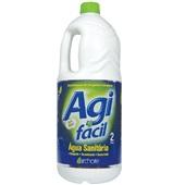 Água Sanitária Cloro Ativo 2,0 à 2,5% 2L 1 UN Agifácil