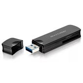 Leitor de Cartão de Memória Super Speed USB 3.0 AC290 1 UN Multilaser