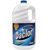 Água Sanitária Cloro Ativo 2,0 a 2,5% 5L 1 UN Daclor