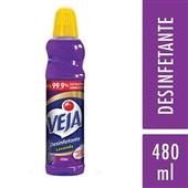 Desinfetante 480ml Lavanda 1 UN Veja