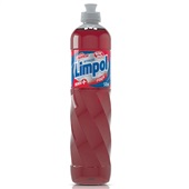 Detergente Líquido 500ml Maçã 1 UN Limpol