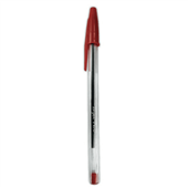 Caneta Esferográfica Vermelha 1.0mm 1 UN Injex Pen