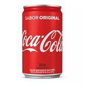 Refrigerante Coca Cola 220ml Lata 12 UN