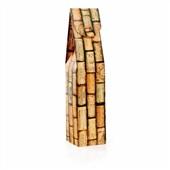 Caixa para Vinho Rolha 8,5x8,5x39cm 1 UN Cromus