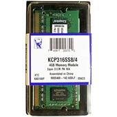 Memória RAM 4GB DDR3 1600MHZ 1 UN Kingston