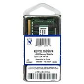 Memória RAM 4GB DDR3 1600 KCP3L16SS8/4 1 UN Kingston