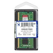 Memória RAM 8GB DDR4 2400 KVR24S17S8/8 1 UN Kingston