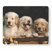 Mouse Pad 3 Cachorrinhos 1068 1 UN Work Class