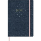 Caderno Executivo Capa Dura 80 FL Cambridge Denim 1 UN Tilibra