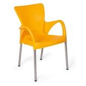 Cadeira Fixa Setúbal Amarelo 1 UN Xplast