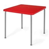 Mesa Alfena Vermelho 73x70x70cm 1 UN Xplast
