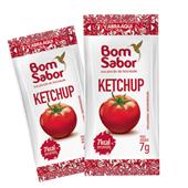 Ketchup em Sachê 7g CX 182 UN Bom Sabor
