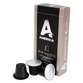 Cápsula de Café Espresso Ristretto CX 10 UN América
