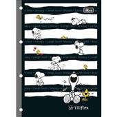 Folha Fichário Tiliflex Snoopy 4 Furos 80 FL 1 UN Tilibra
