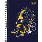 Caderneta Espiral Capa Dura 1/8 80 FL Simpsons D 1 UN Tilibra