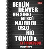 Caderno Universitário Capa Dura 80 FL La Casa de Papel B 1 UN Tilibra