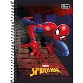 Caderno Espiral Capa Dura 1/4 80 FL Spider Man A 1 UN Tilibra