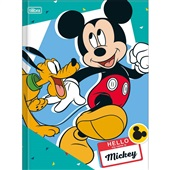 Caderno Brochurão Capa Dura Universitário 80 FL Mickey C 1 UN Tilibra