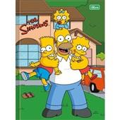 Caderno Brochurão Capa Dura Universitário 96 FL Os Simpsons C 1 UN Tilibra