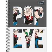 Caderno Universitário Capa Dura 80 FL Popeye A 1 UN Tilibra