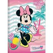 Caderno Brochura Capa Dura 1/4 96 FL Minnie C 1 UN Tilibra
