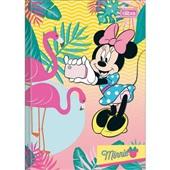 Caderno Brochura Capa Dura 1/4 96 FL Minnie D 1 UN Tilibra
