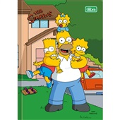 Caderno Brochura Capa Dura 1/4 96 FL Simpsons C 1 UN Tilibra