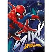 Caderno Brochura Capa Dura 1/4 96 FL Spider-Man C 1 UN Tilibra