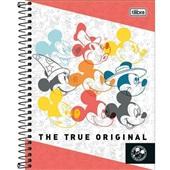 Caderno Colegial Capa Dura 80 FL Mickey C 1 UN Tilibra