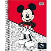 Caderno Colegial Capa Dura 80 FL Mickey D 1 UN Tilibra