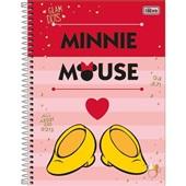 Caderno Universitário Capa Dura 96 FL Minnie D 1 UN Tilibra