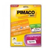 Etiqueta LaserJet para Congelador e Freezer Carta 4080 1 UN Pimaco