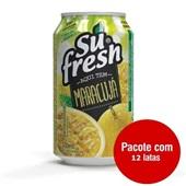 Suco Néctar de Maracujá 330ml 12 UN Sufresh