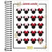 Agenda Diária 2019 Minnie C 1 UN Tilibra