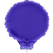 Balão Redondo com Vareta Nº11 Roxo 1 UN Funny Fashion