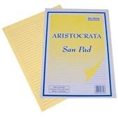 Bloco Amarelo com Pauta A4 50 Folhas 1 UN San Remo