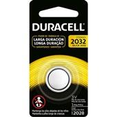 Bateria de Lítio 3V CR2032 1 UN Duracell