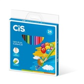 Lápis de Cor Redondo Colorcis 24 Cores Cis