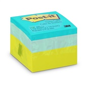 Bloco Adesivo 400 Folhas 47,6x47,6mm Cubo Verde 1 UN Post-it