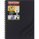 Caderno Executivo Capa Dura 100 FL Wire-O 1 UN Chies