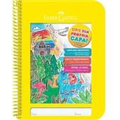 Caderno Pedagógico Criativo Capa Plástica 96 FL Amarelo 1 UN Faber Castell