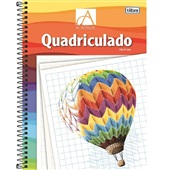Caderno Pedagógico Quadriculado 10x10mm Capa Dura 96 FL Academie 1 UN Tilibra
