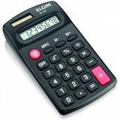 Calculadora de Bolso 8 Dígitos Preto CB1483 1 UN Elgin