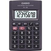 Calculadora de Bolso 8 Dígitos Preto HL-4A 1 UN Casio