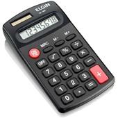 Calculadora de Bolso 8 Dígitos 4 Preto CB1485 1 UN Elgin