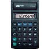 Calculadora de Bolso 8 Dígitos Preto ZT-715 1 UN Zeta